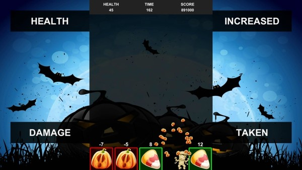 скриншот Quixzel Rush Pumpkin Bash 1