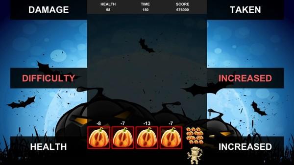 скриншот Quixzel Rush Pumpkin Bash 4