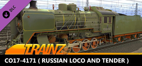 Trainz 2019 DLC - CO17-4171 ( Russian Loco and Tender )