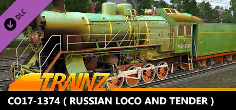 Trainz 2019 DLC - CO17-1374 ( Russian Loco and Tender )
