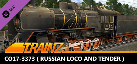 Trainz 2019 DLC - CO17-3373 ( Russian Loco and Tender )