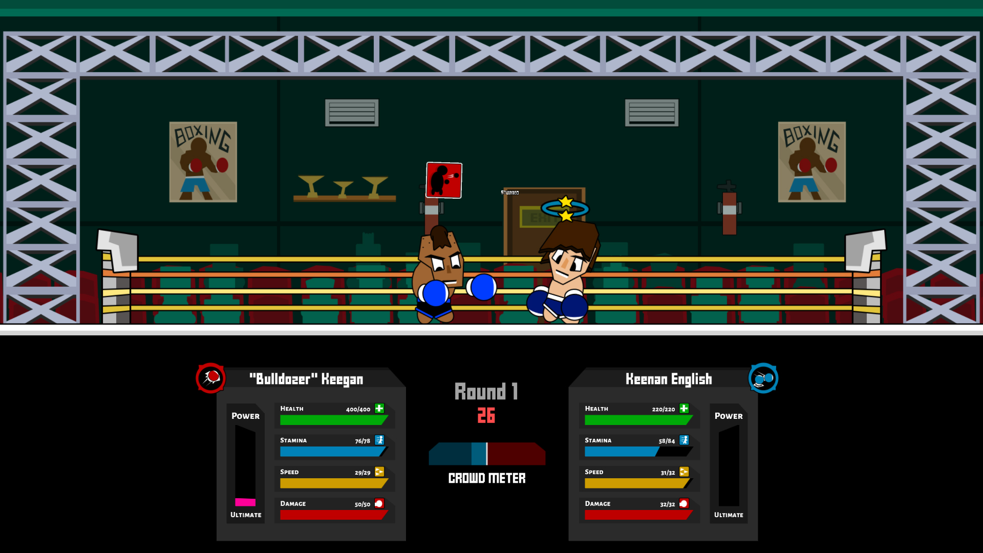 Boxing School Game