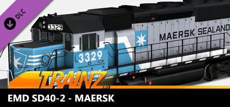 Trainz 2019 DLC - EMD SD40-2 - Maersk