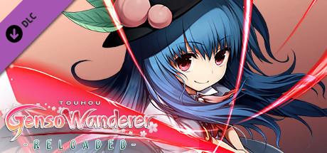 "Player & Partner character ""Tenshi Hinanawi"" / 玩家角色+同伴「比那名居天子」 / プレイヤー & パートナーキャラ「比那名居天子」 (Touhou Genso Wanderer -Reloaded-)"