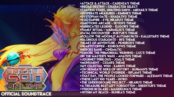 BattleCON Online Digital Soundtrack (DLC)