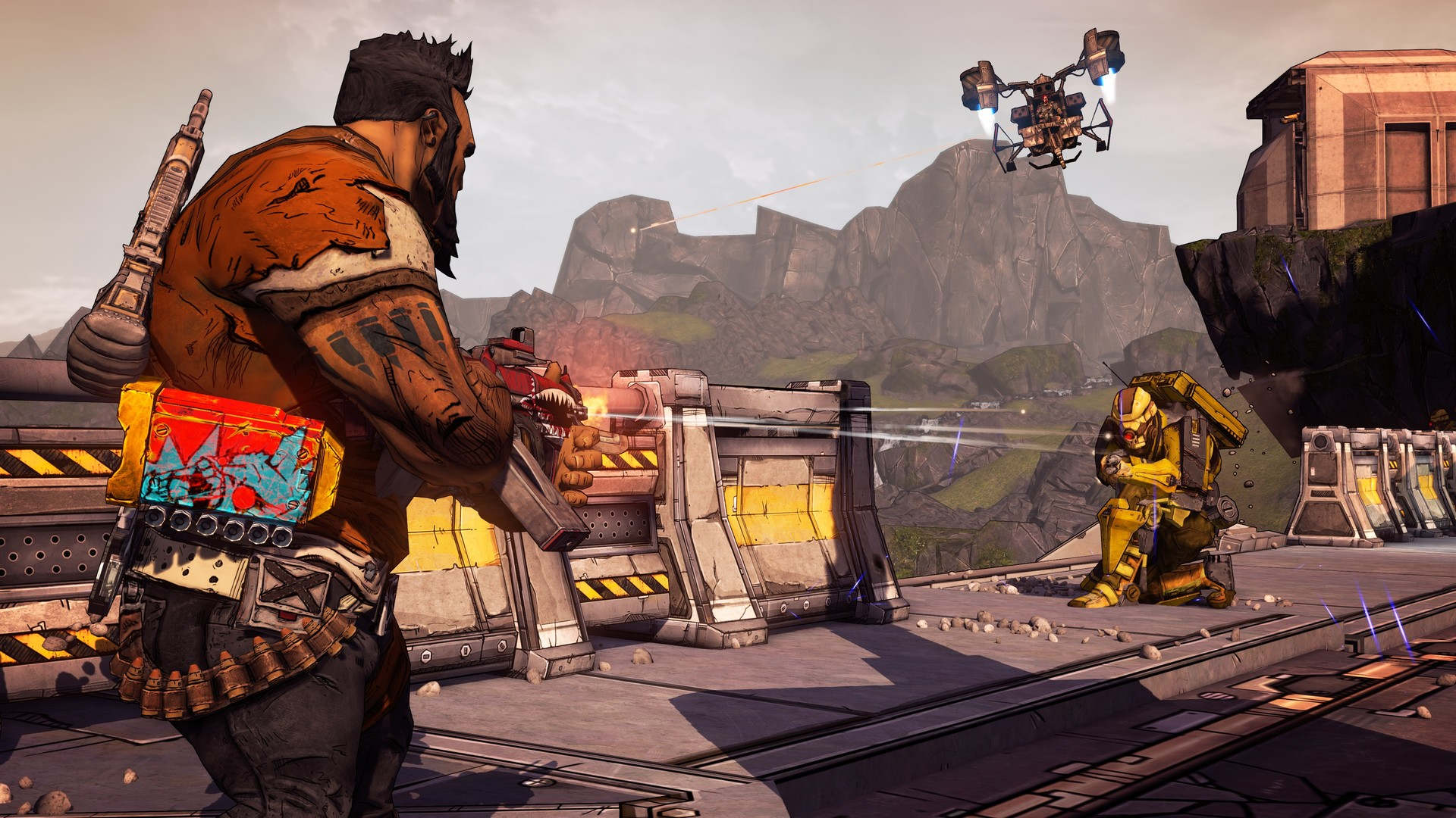 Borderlands 2. Game of the Year - Remastered [Steam-Rip] [2019 Rus Eng Multi8]