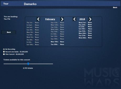 Music Wars Empire: FM (DLC)