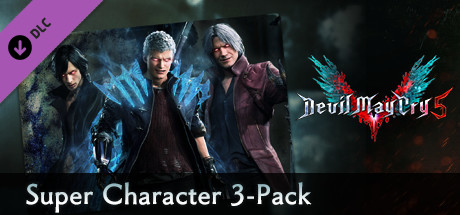 Devil May Cry 5 - Super Character 3-Pack