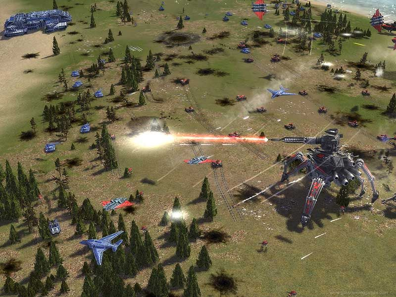 скачать игру суприм командер Forged Alliance - фото 2