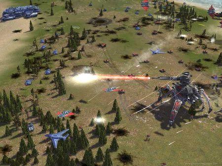 Скриншот из Supreme Commander: Forged Alliance
