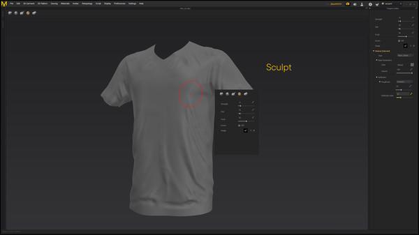 Скриншот из Marvelous Designer 8 for Steam
