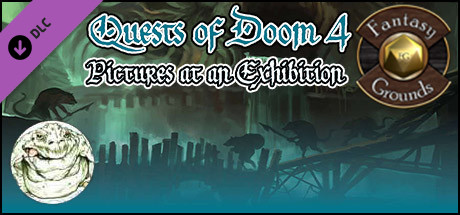 Fantasy Grounds - Quests of Doom 4: Pictures at an Exhibition (5E)