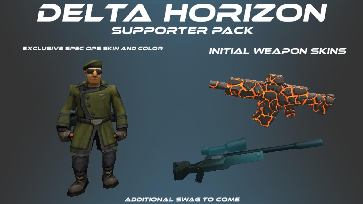 Delta Horizon - Supporter Pack