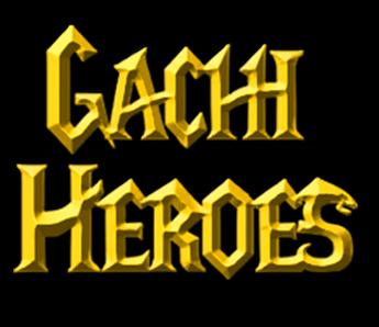 Gachi Heroes logo