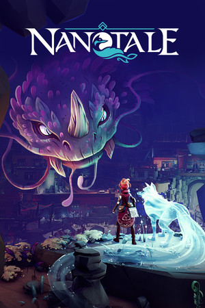 Nanotale - Typing Chronicles poster image on Steam Backlog