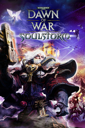 Warhammer 40,000: Dawn of War - Soulstorm poster image on Steam Backlog