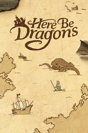 Here Be Dragons poster image on Steam Backlog