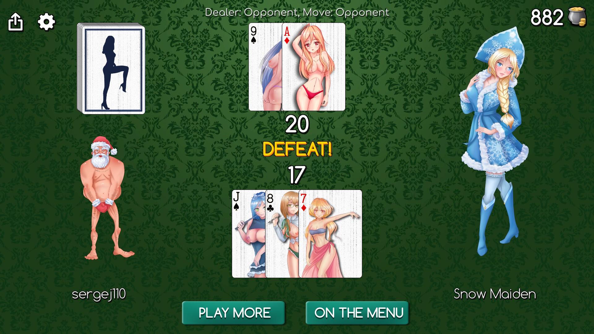 Shemale strip poker game