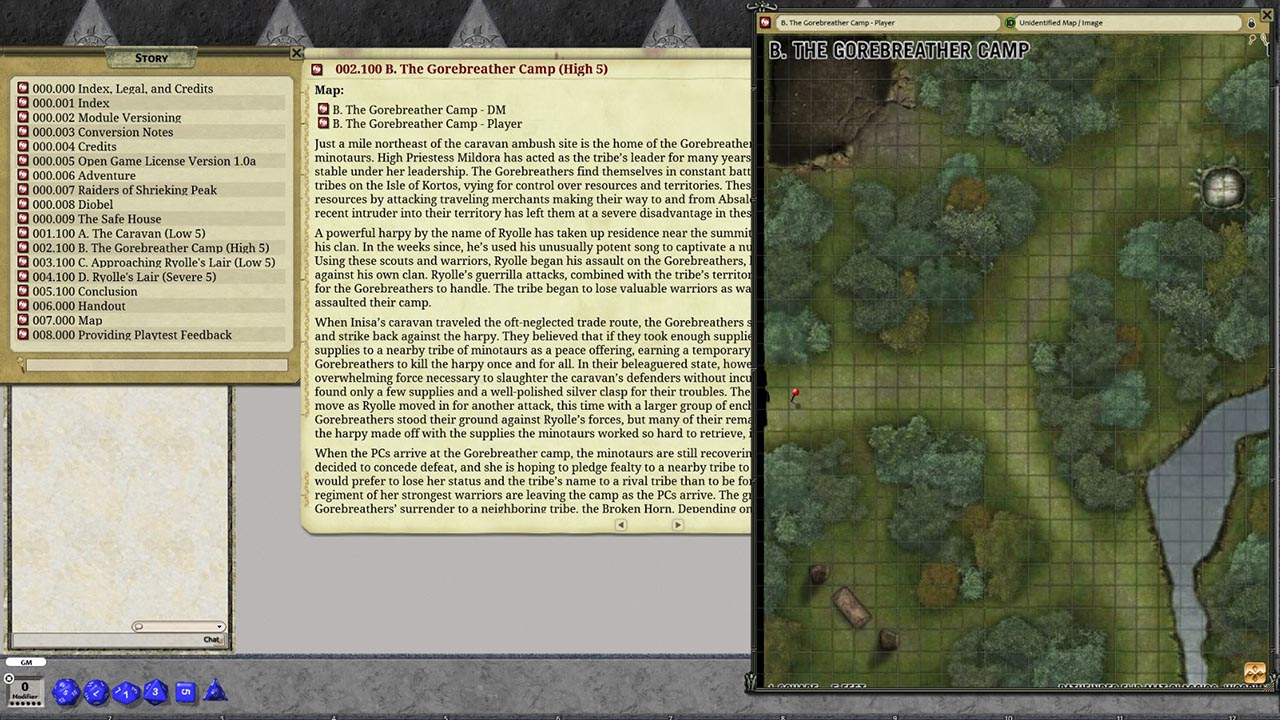 Fantasy Grounds - Pathfinder Society Playtest Scenario #2: Raiders of  Shrieking Peak (PFRPG2)
