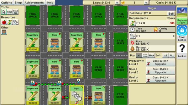 Screenshot of Supply Chain Idle