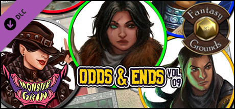 Fantasy Grounds - Odds and Ends, Volume 9 (Token Pack)