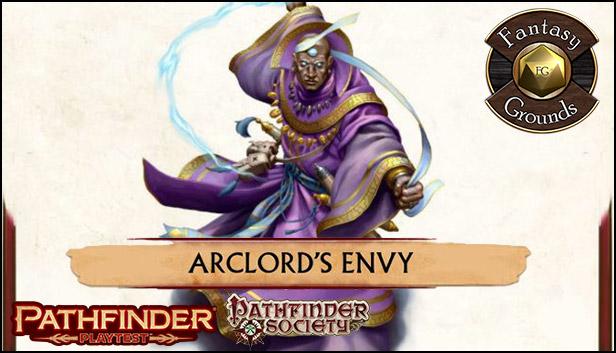 Fantasy Grounds - Pathfinder Society Playtest Scenario #3