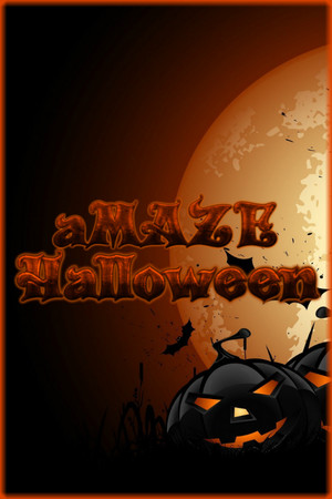 aMAZE Halloween poster image on Steam Backlog
