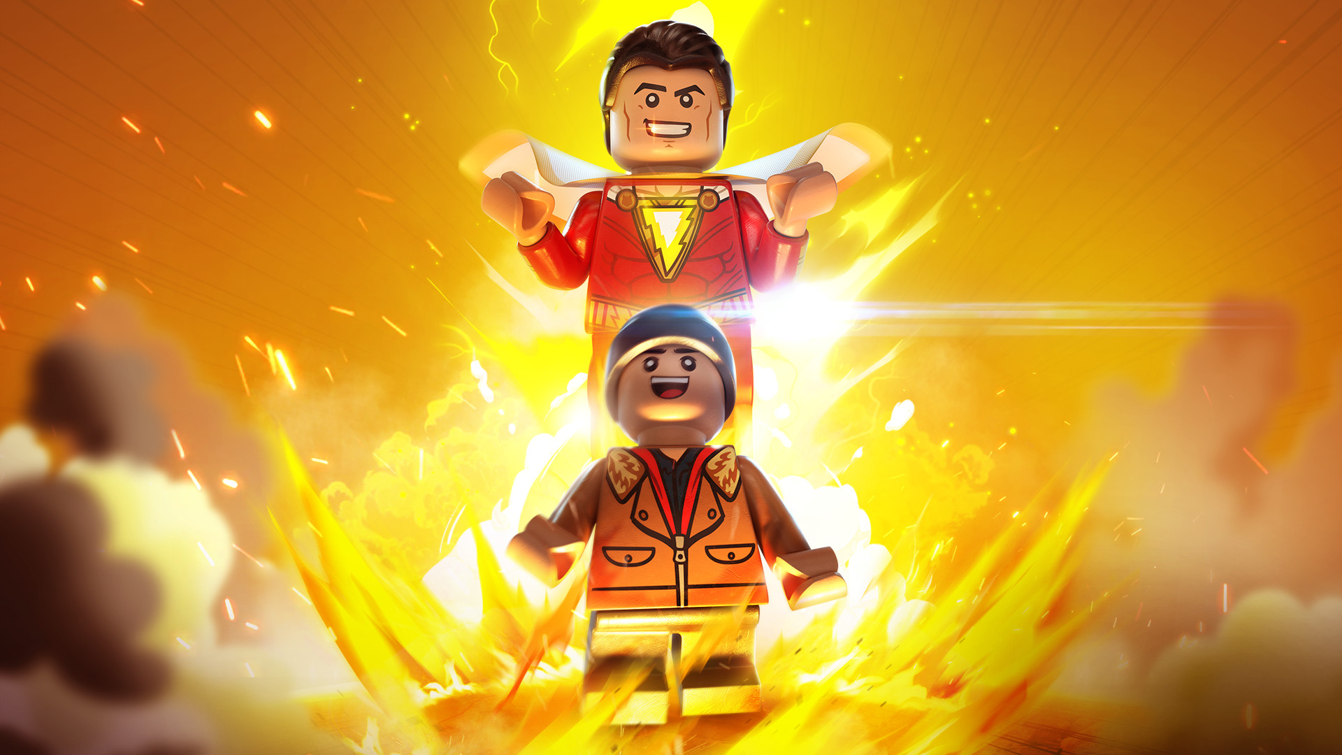 Lego Dc Super Villains Shazam Movie Level Pack 1 2