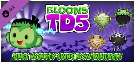 Bloons TD 5 - Halloween Dart Monkey Skin