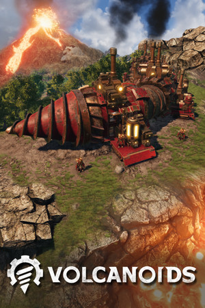 Volcanoids poster image on Steam Backlog