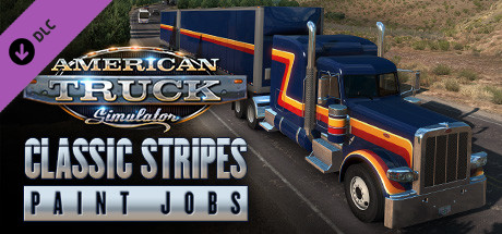 American Truck Simulator - Classic Stripes Paint Jobs Pack
