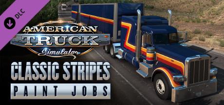 American Truck Simulator - Classic Stripes Paint Jobs Pack