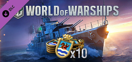 World of Warships - 10 Guineas