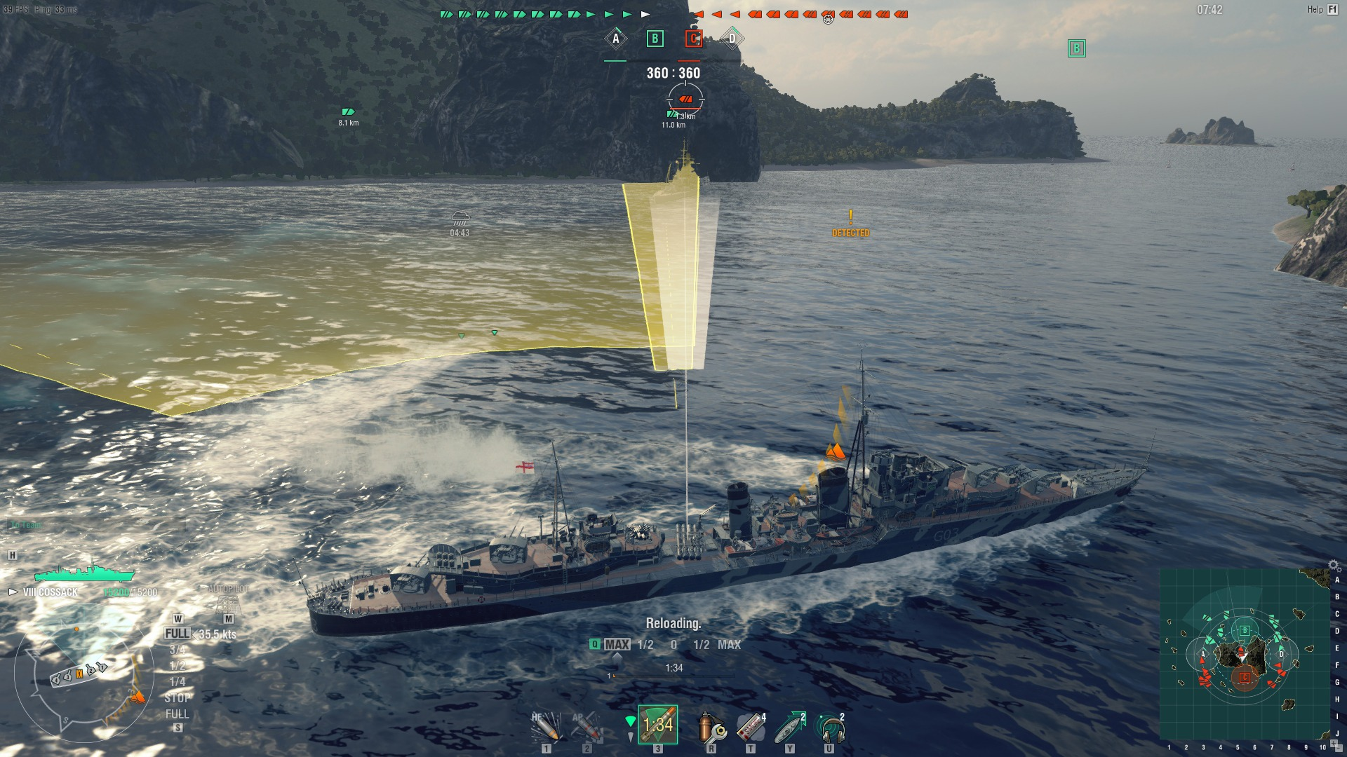 how to play world of warships online