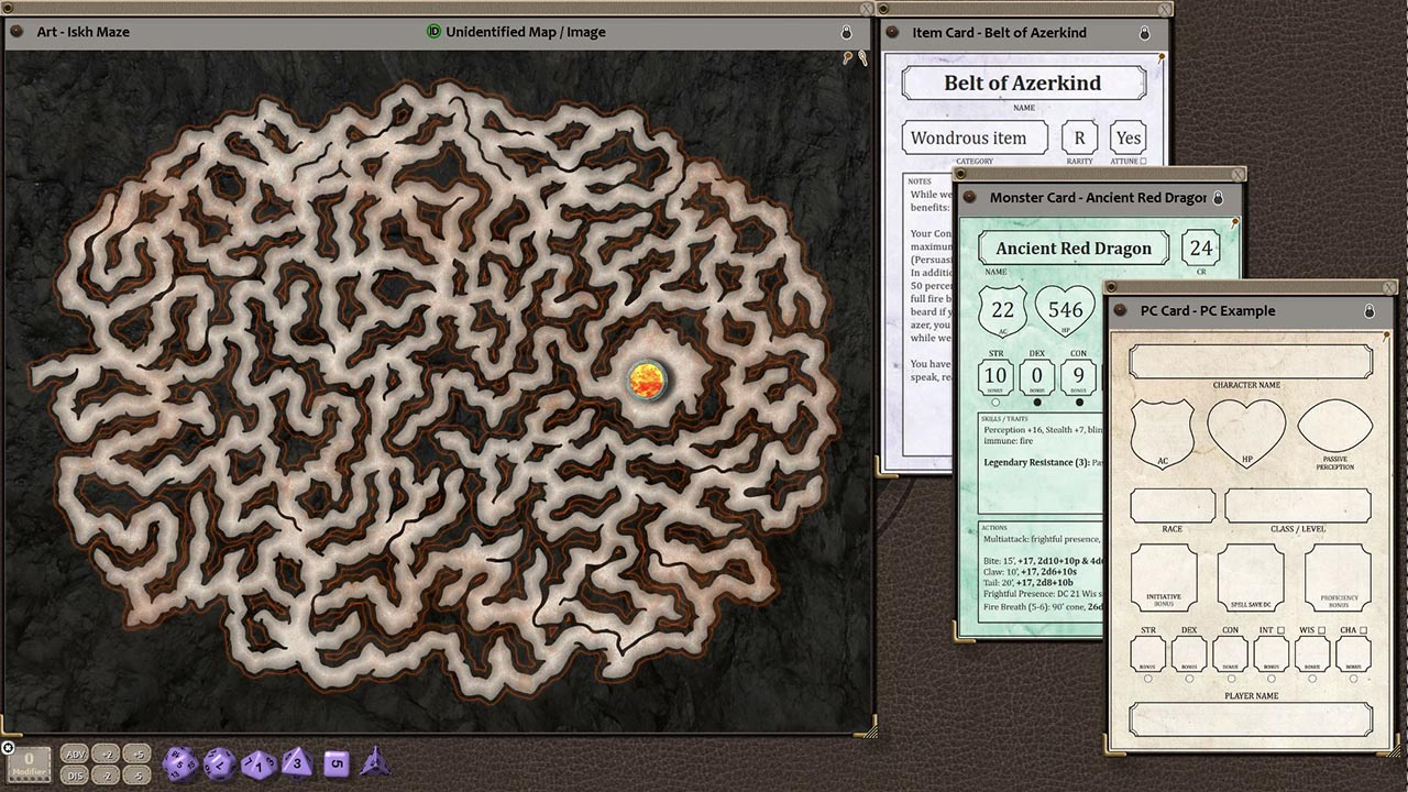 Fantasy Grounds - Fires of Iskh (5E)
