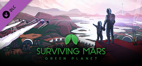 Surviving Mars Green Planet [PT-BR] Capa