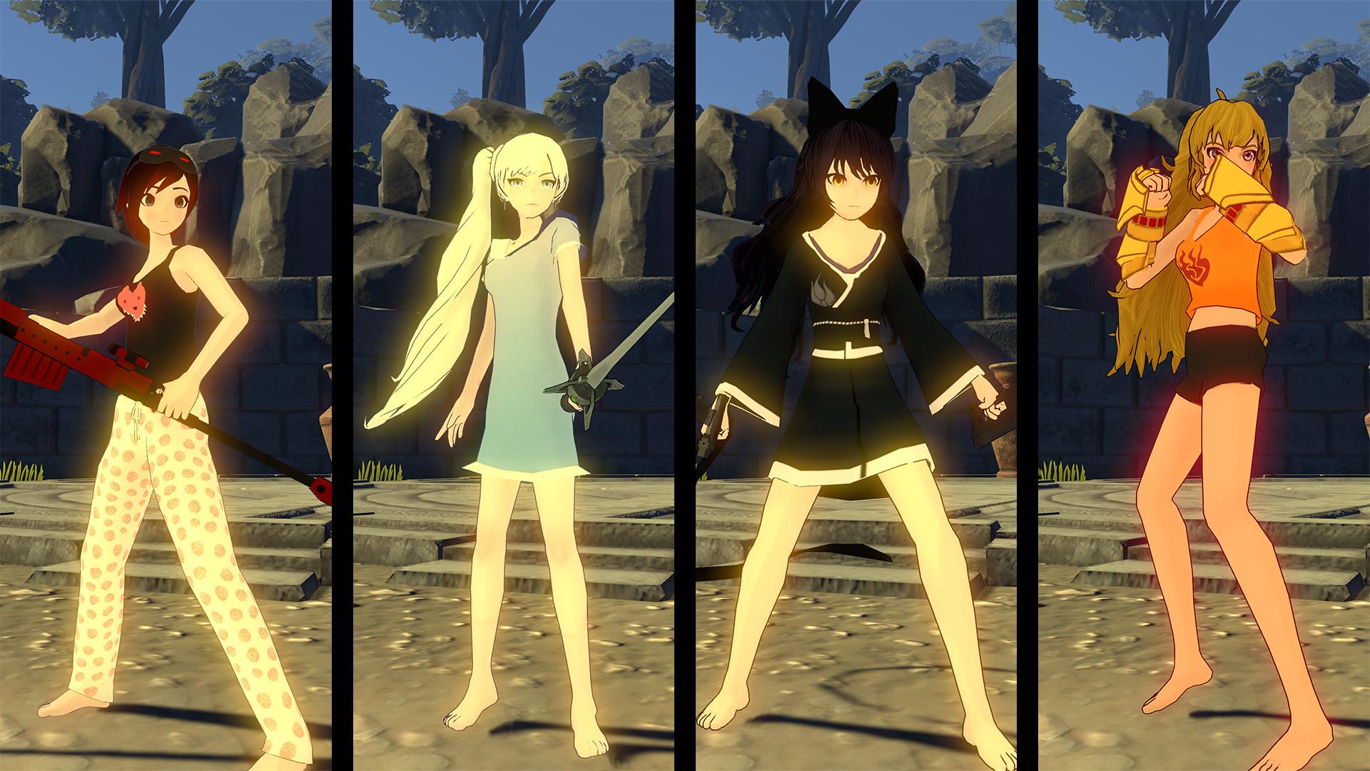 RWBY  Grimm Eclipse - Team RWBY Pajamas Costume Pack on Steam aa9e36648