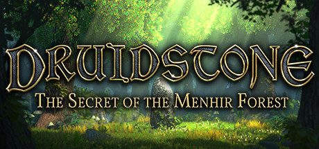 Druidstone The Secret of the Menhir Forest Capa