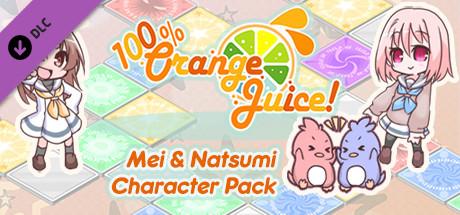 100% Orange Juice Mei & Natsumi Character Pack