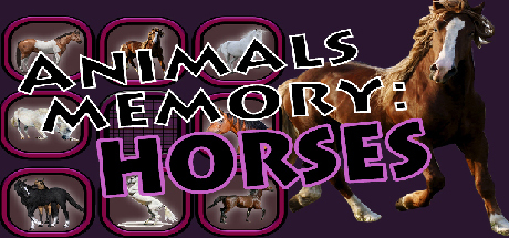 Animals Memory: Horses