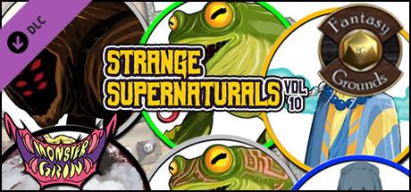 Fantasy Grounds - Strange Supernaturals, Volume 10 (Token Pack)