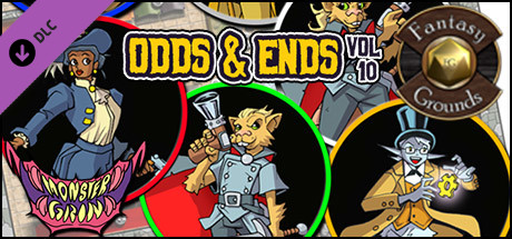 Fantasy Grounds - Odds and Ends, Volume 10 (Token Pack)