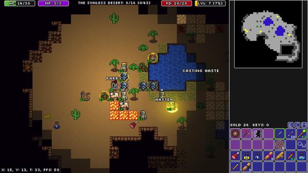 Screenshot of Rogue Fable III