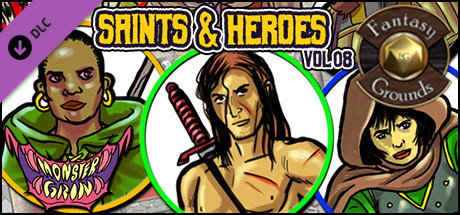 Fantasy Grounds - Saints and Heroes, Volume 8 (Token Pack)