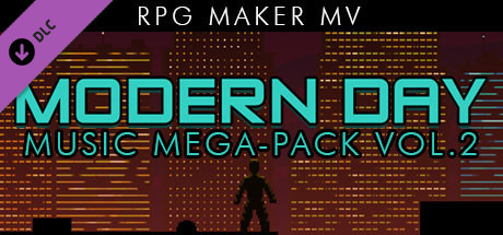 RPG Maker MV - Modern Day Music Mega Pack Vol 2