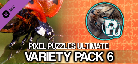 Pixel Puzzles Ultimate - Puzzle Pack: Variety Pack 6