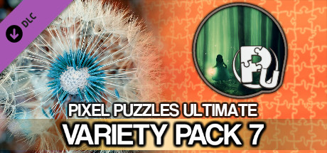 Jigsaw Puzzle Pack - Pixel Puzzles Ultimate: Variety Pack 7