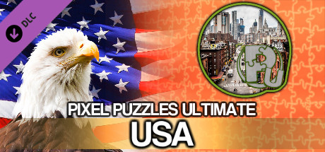 Pixel Puzzles Ultimate - Puzzle Pack: USA