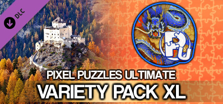 Jigsaw Puzzle Pack - Pixel Puzzles Ultimate: Variety Pack XL