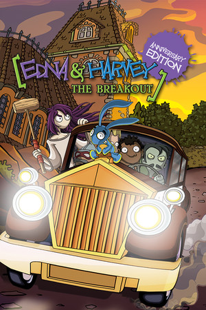 Edna & Harvey: The Breakout - Anniversary Edition poster image on Steam Backlog